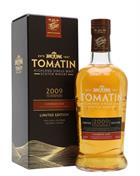 Tomatin 2009 Caribbean Rum Cask Limited Edition Highland Single Malt Scotch Whisky 46%