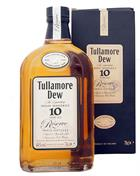 Tullamore Dew 10 year old Reserve Trippel Distilled Irish Whiskey 40%