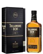 Tullamore Dew Trilogy 15 år Triple distilled Irish Single Malt Whiskey 40%