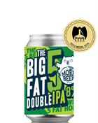 Uiltje Big Fat 5 Double IPA India Pale Ale Craft Beer 33 cl 8%