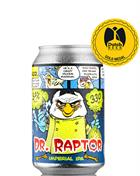 Uiltje Dr. Raptor Imperial IPA India Pale Ale Craft Beer 33 cl 9,2%