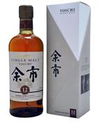 Nikka Yoichi 12 år Single Malt Whisky Japan No Box 45%