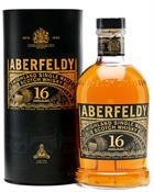 Aberfeldy 16 years old Single Malt Highland Whisky 40%