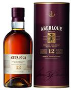 Aberlour 12 år Single Speyside Malt Whisky 40%