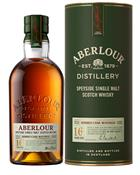 Aberlour 16 year old  Single Speyside Malt Whisky 40%