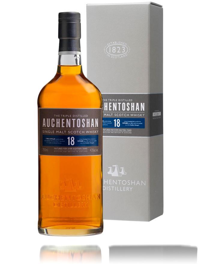 Auchentoshan 18 Year Old Single Lowland Malt Whisky 43