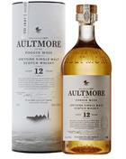 Aultmore 12 year old Single Speyside Malt Whisky 46%
