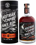 Austrian Empire 18 years Reserva 1863 Navy Rum 40%