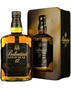 Ballantine's Gold Seal 12 years old Old Version Blended Whisky 40%