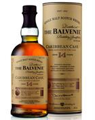 Balvenie Caribbian Cask 14 year old Single Speyside Malt Whisky 43%
