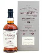 Balvenie 25 year old Doublewood Single Speyside Malt Whisky 43%