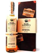 Basil Hayden´s 8 år med Box 80 Proof Kentucky Straight Bourbon Whiskey 40%