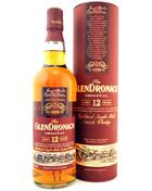Glendronach 12 year old Single Speyside Malt Whisky 43%