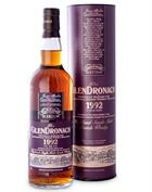 Glendronach 25 year old Danish Whisky Retailers Single Speyside Malt Whisky 48%