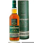 Glendronach 15 year old Revival Single Speyside Malt Whisky 46%