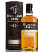 Highland Park 21 year old Single Orkney Malt Whisky 47,5%