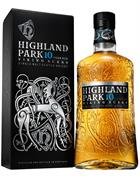 Highland Park 10 year old Viking Scars Single Orkney Malt Whisky 40%