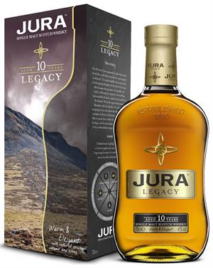Isle of Jura Legacy Single Jura Malt Whisky 40%