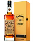Jack Daniels No. 27 Gold Limited Edition Tennessee Sour Mash Whiskey 40%