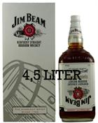 Jim Beam 4,5 Liter Kentucky Straight Bourbon Whiskey 40%