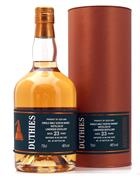 Linkwood 23 year old Duthies Whisky Single Cask Speyside Malt Whisky 46%