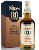 Longrow 21 year old 2019 Edition Single Campbeltown Malt Whisky 46%