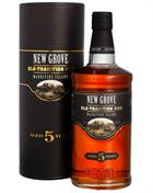 New Grove 5 years Old Tradition Mauritius Island Rum 40%
