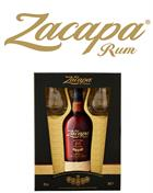 Ron Zacapa Giftbox with 2 glasses Sistema Solera Guatemala Rum 43%