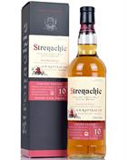 Stronachie 10 år Sherry Cask A D Rattray Benrinnes Single Speyside Malt Whisky 46%