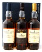 Talisker Box Set 3x20 cl Single Malt Whisky Skye 45,8%