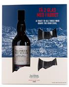 Talisker Port Ruighe Giftbox with 2 glass Single Malt Whisky Skye 70 cl 45,8%