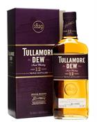 Tullamore Dew 12 år Trippel distilled Irish Whiskey 40%