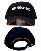 Whisky.dk Cap black with logo